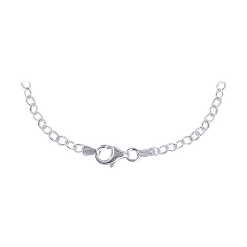 925 Silver Butterfly Pendant 16 inch Chain Necklace
