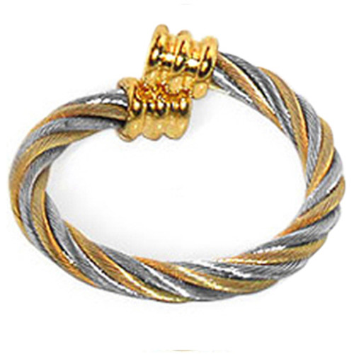 Twisted Wire Two Tone Magnetic Band Size 7