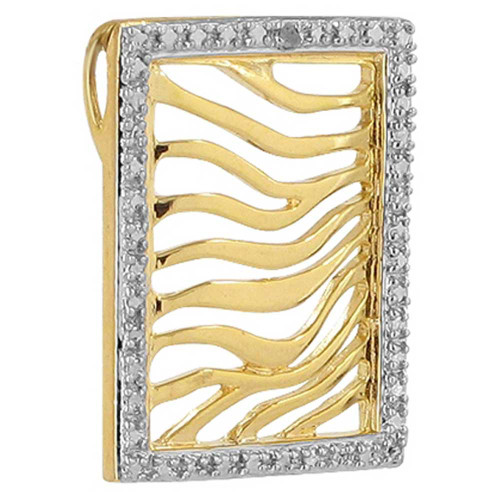 Gold over Sterling Silver Vermeil Pendant