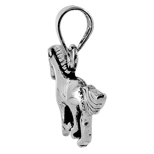 925 Silver 0.6 x 1 inch Galloping Horse Pendant #PSPS007