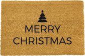 Traditional Merry Christmas Greeeting Doormat