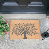 Tree of Life Grey Doormat