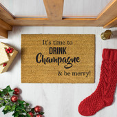 It's time to drink champagne & be merry