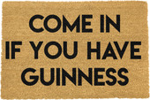 Come in if you have Guinness Doormat