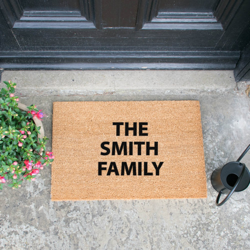Personalised Doormat (up to 3 lines)