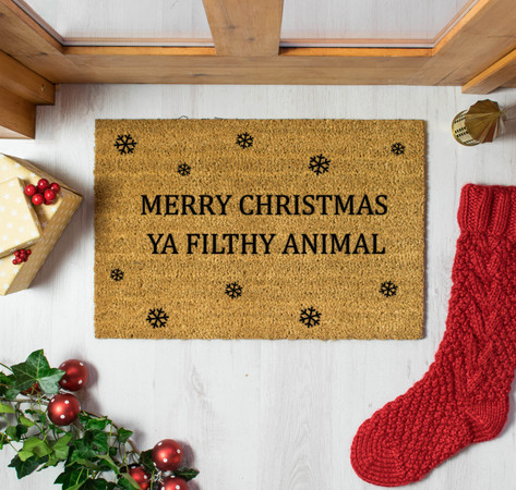 6 Christmas Doormats You Need To Get In the Spirit