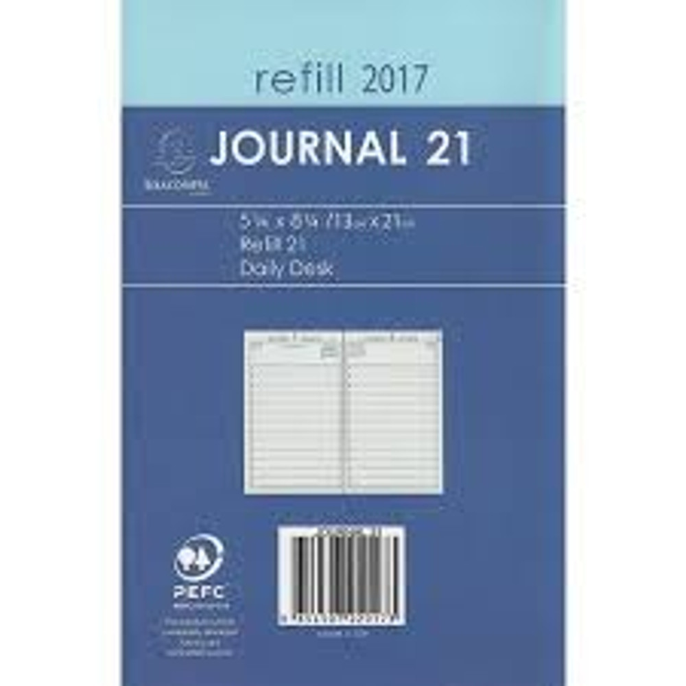 2017 Journal 21 Refill