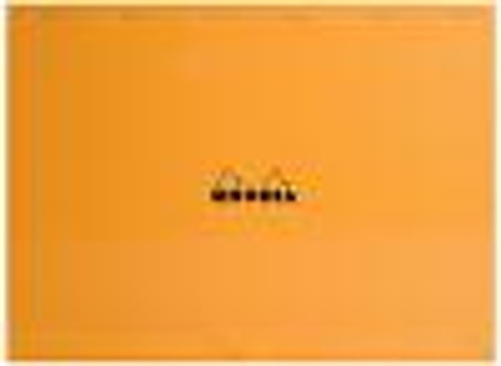 #38200 Rhodia Classic Notepads Top Staplebound 16 ½ x 12 ½ Graph Orange 80 sheets