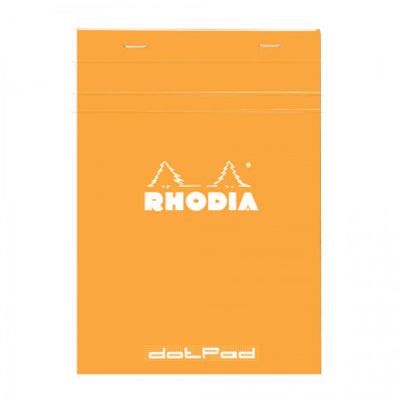 ORANGE NOTEPAD 6X8.25
