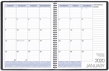MB-31/0 2020 Skivertex Monthly Planner