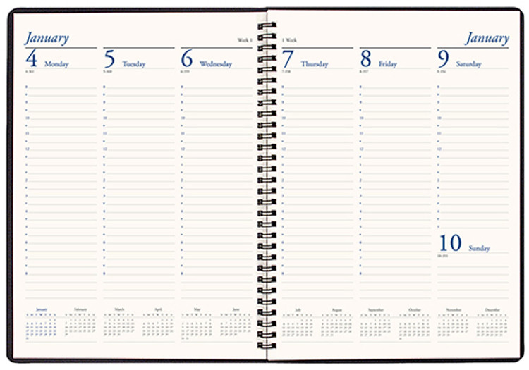 Weekly Planner WB-31 Skivertex Cover