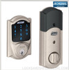 Schlage BE469NX-CAMELOT - Connect Touchscreen with Built-in Alarm and Z-Wave Technology