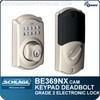 Schlage BE369NX-CAM - Camelot Style Keypad Electronic Deadbolt with Z-Wave Technology