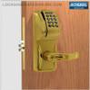 Schlage AD-300-MS-MSK (Magnetic Stripe - Swipe + Keypad) Electronic Mortise Locks