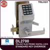 Alarm Lock DL2700 Cylindrical Lock | Alarm Lock DL2700 | Electronic Door Lock