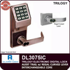 Alarm Lock Trilogy DL3075 Standalone Access Control System with Audit Trail and Regal Curved Lever | Alarm Lock DL3075IC