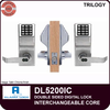 Alarm Lock Trilogy DL5200 Double Sided Electronic Digital Locks | Alarm Lock Trilogy DL5200IC Interchangeable Core