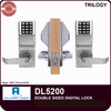 Alarm Lock Trilogy DL5200 Double Sided Electronic Digital Locks | Alarm Lock Trilogy DL5200 | Alarm Lock Trilogy DL5200IC