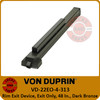 Von Duprin 22 Series Exit Only