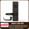 Detex 20 Series Storeroom Lever Trim