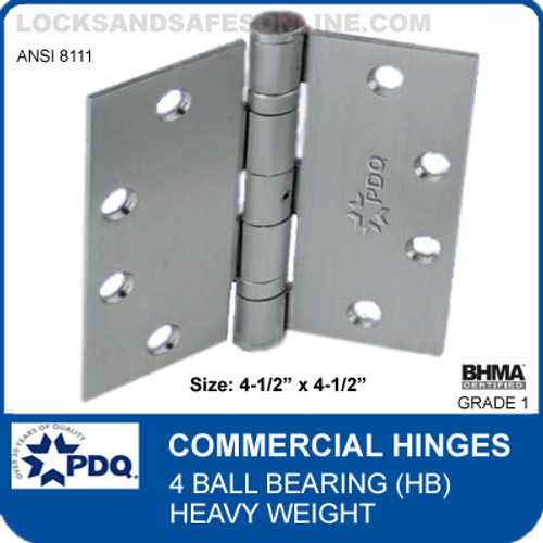 9cf5be082f4 PDQ Commercial Hinges | 8111