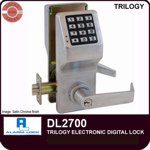 Alarm Lock DL2700 Cylindrical Lock | Alarm Lock DL2700 | Alarm Lock DL2700IC Interchangeable Core Lock