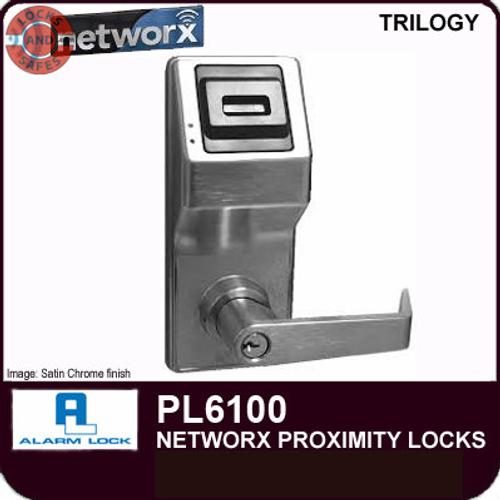 Alarm Lock Trilogy Networx Proximity Only Digital Locks | Alarm Lock PL6100 | Alarm Lock PL6100IC Interchangeable Core Lock
