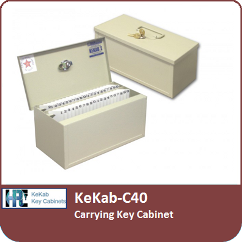 KEKAB-C40 - Carrying Key Cabinet by HPC