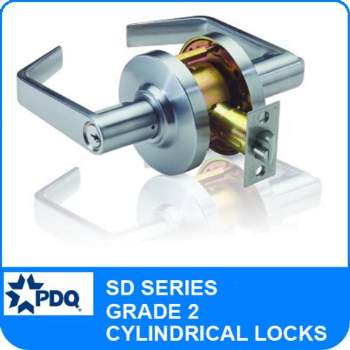 PDQ SD Series Grade 2 Cylindrical Locks | PDQ Cylindrical Locks