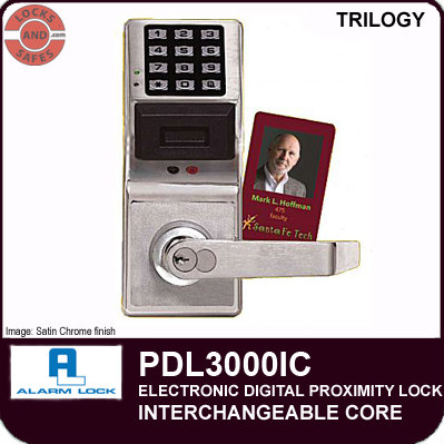 Alarm Lock PDL3000IC | Standalone Digital Lock | Cylindrical Locks