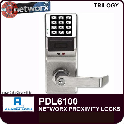 Alarm Lock PDL6100 | Wireless Locks | Alarm Lock Cylindrical Locks