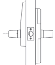 PDQ GTS-STS 116 Entrance Lock Function