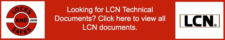 LCN Technical Documents | LCN Cut Sheets