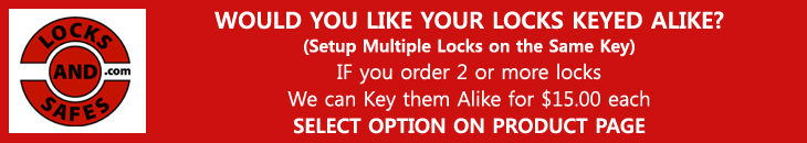 Get all your locks Keyed | PDQ MR278 Privacy Mortise Lock with Deadbolt and Indicator