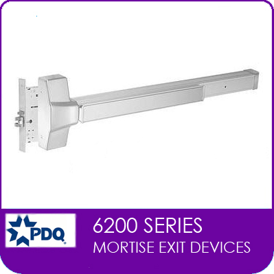 PDQ 6200 | PDQ Mortise Exit Devices | PDQ Exit Devices