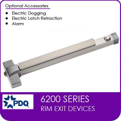 PDQ 6200 | PDQ Rim Exit Devices | PDQ Exit Devices
