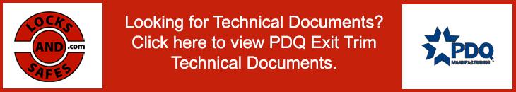 PDQ Exit Trim Technical Documentation Banner