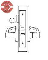 Marks 5JM/JR Mortise Locks | PDQ MR113 Cross Reference | J Wide Escutcheon Trim