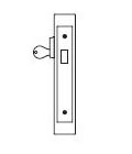 PDQ MR131 Single Cylinder Deadbolt Mortise Locks | Corbin NML2011 Mortise Deadbolt | PDQ MR131 | Mortise Deadbolt Lock