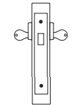 PDQ MR133 Mortise Lock Double Cylinder Deadbolt Function