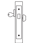 PDQ MR134 Mortise Lock Classroom Deadbolt Function