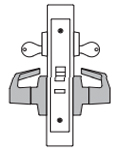 PDQ MR138 Mortise Lock Institution Function