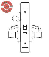 PDQ MR148 Classroom Mortise Locks JE | Best 45HR Mortise Locks | PDQ MR148 | Best Mortise Locks