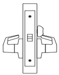 PDQ MR176 Mortise Lock Privacy Function