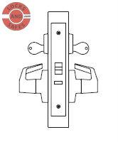 PDQ MR186 Apartment Mortise Locks J Escutcheon Trim | Best 45HC Mortise Locks | PDQ MR186 | Best Mortise Locks