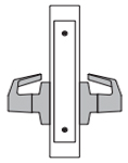 PDQ MR206 Mortise Lock Double Dummy with Chassis Function