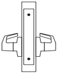 PDQ MR207 Mortise Lock Double Dummy with Active Trim Function