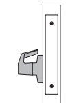 PDQ MR212 Mortise Lock Single Dummy with Chassis Function