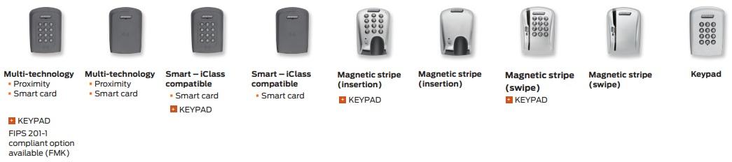 Schlage AD-200 Keypad | Schlage AD-200 Magnetic Stripe Swipe | Schlage AD-200 Magnetic Stripe Insert | Schlage AD-200 Multi Technology