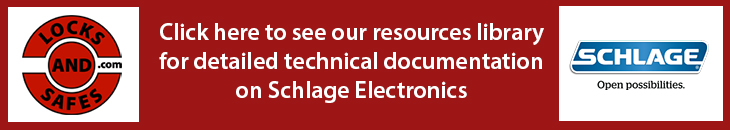 Click here to view Schlage Electronic Documents | Click here to view Schlage Electronic Cut Sheet